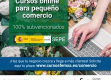 EL SERVICIO PÚBLICO DE EMPLEO ESTATAL SUBVENCIONA CURSOS ONLINE DIRIGIDOS A TRABAJADORAS Y AUTÓNOMAS DE COMERCIO